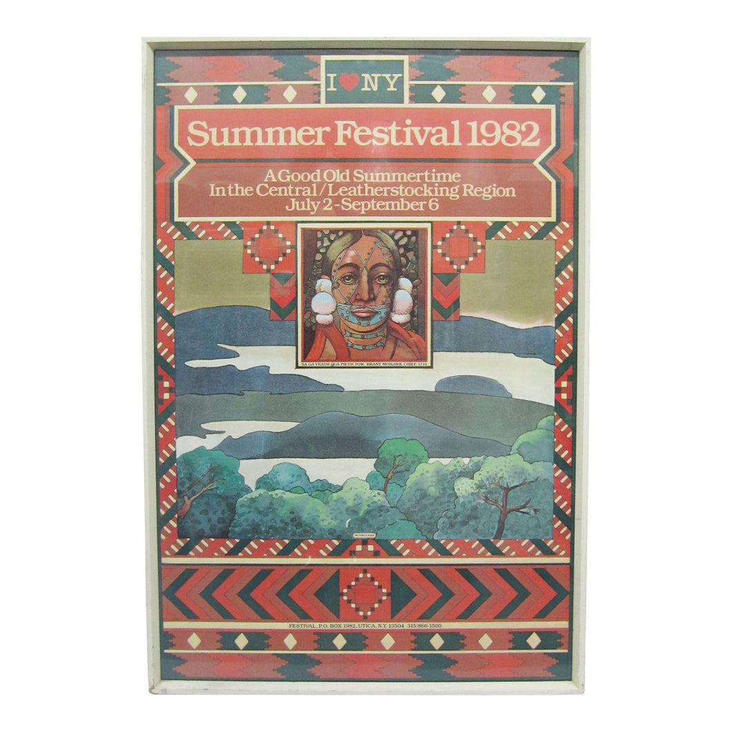 Original 1982 Poster by Milton Glaser