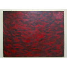 Load image into Gallery viewer, Feathery Red Abstract Painting
