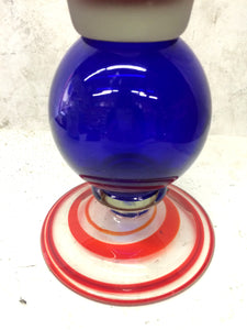 Memphis  Colorful Glass Vase