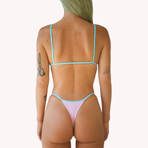 mew 2 in 1 pink string thong panties