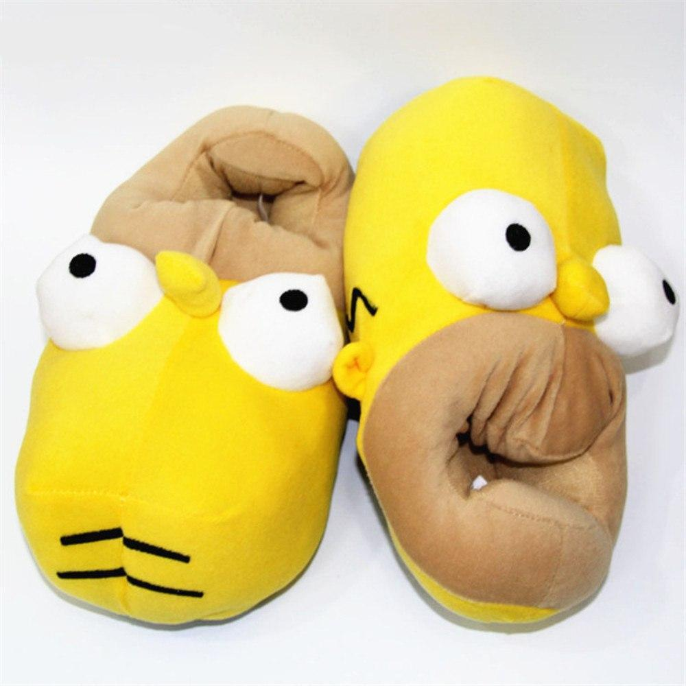 e182c1f15fe12 Boutique Simpson - Chaussons Homer Simpson