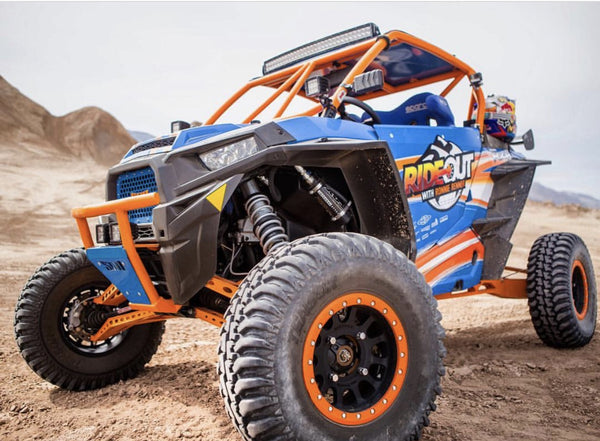 Polaris RZR XP1K / XP4K Four Inch Wider Fender Flares – Rhys Millen Racing