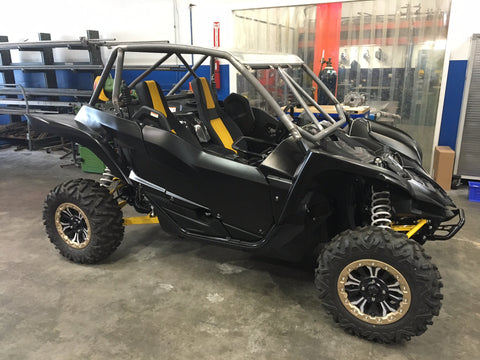 Yamaha YXZ Rear Fenders