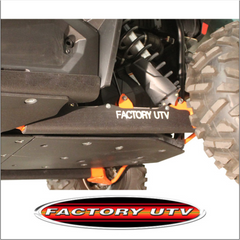 Factory UTV XP 1000 UHMW Trailing arm Guards