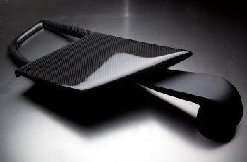Mitsubishi EVO VIII 02+ RMR Carbon Fiber Cold Air Hood Scoop