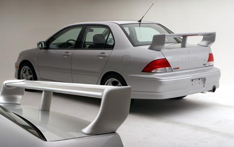 Mitsubishi Lancer 02+ RMR 4 Piece Rear Spoiler