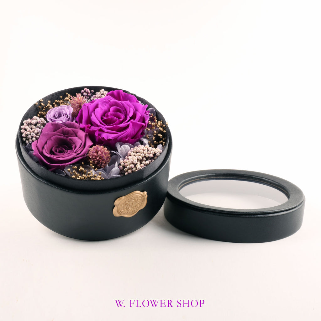 Preserved Flower Box - Fancy
