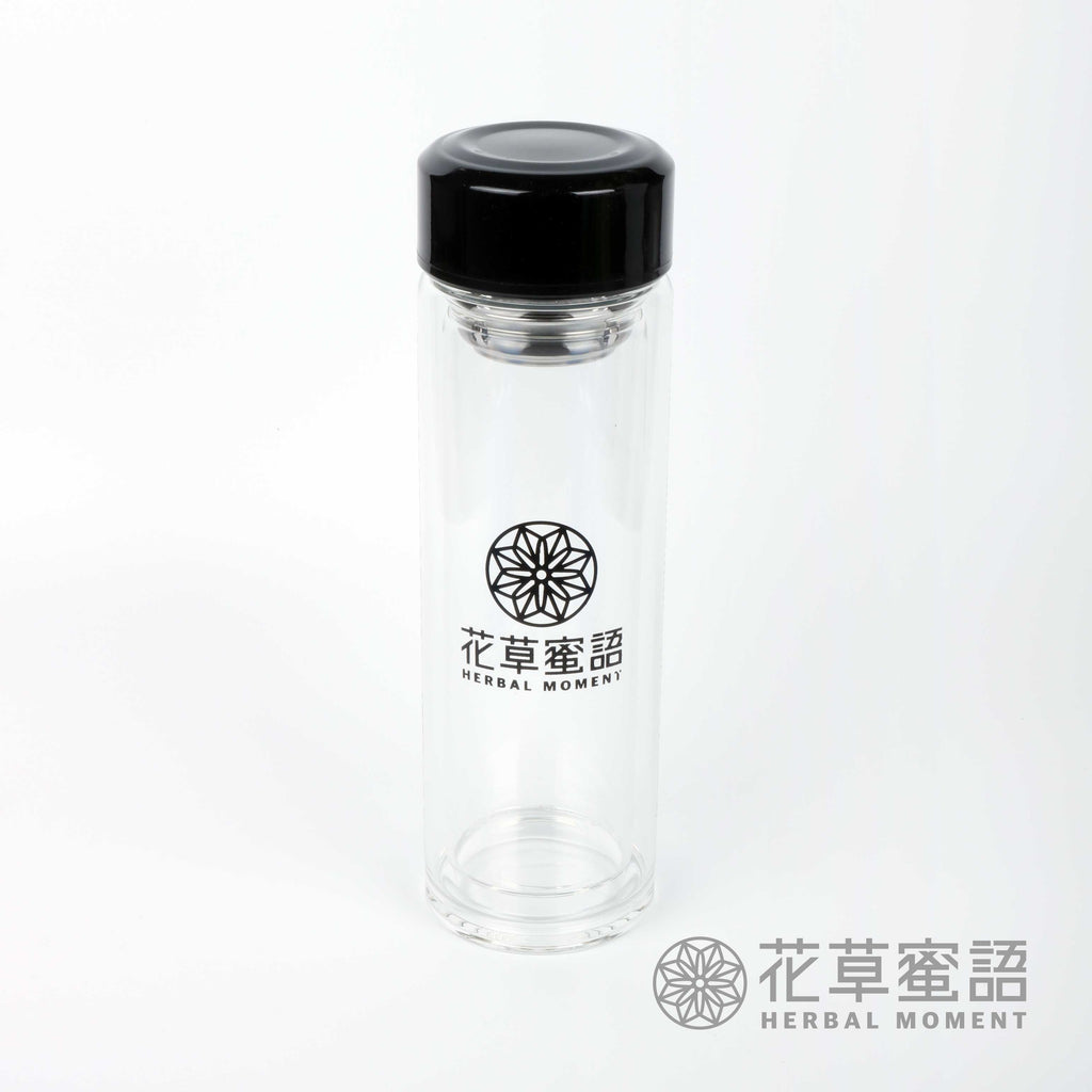 Double Layer Glass Bottle