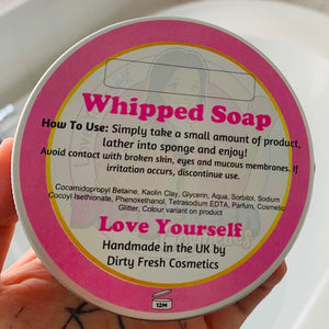 Bedtime Whipped Soap