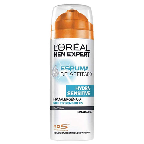 Espuma de Barbear Men Expert Hydra Sensitive L'Oreal Make Up (200 ml)