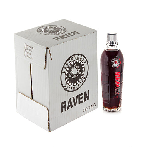 Vodka Vermelha Red Raven