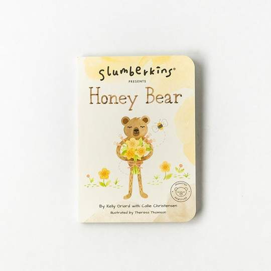 Slumberkins Honey Bear Snuggler