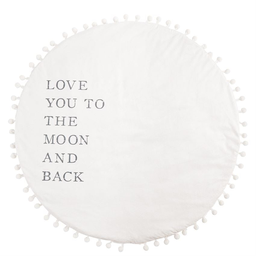 Plush Word Play Mat: Moon & Back