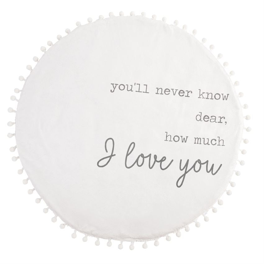 Plush Word Play Mat: I Love You