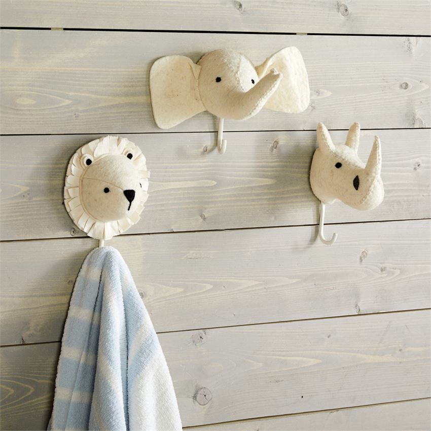 Safari Wall Hook | Elephant Wall Hook
