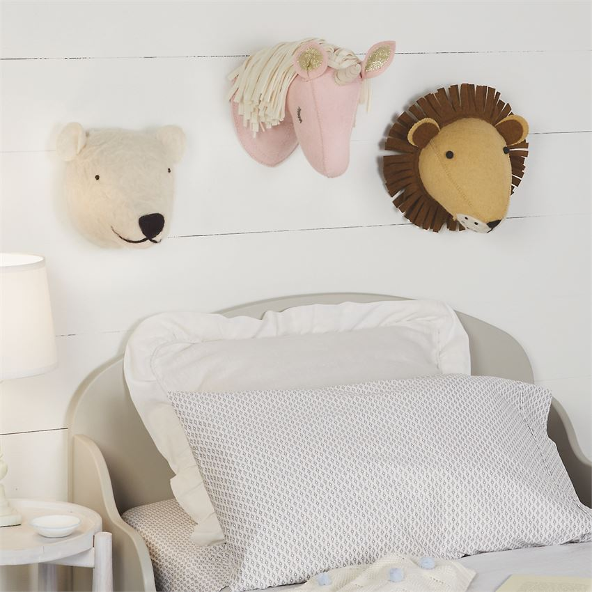 Unicorn Wall Mount: Pink