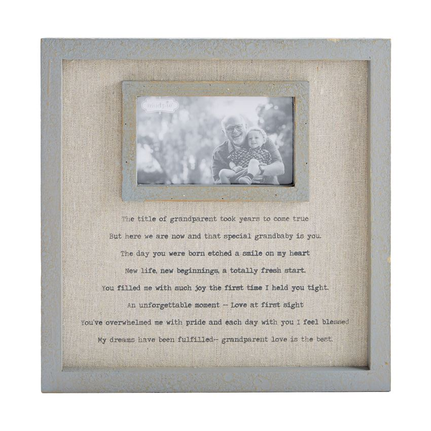 Grandparents Linen Frame