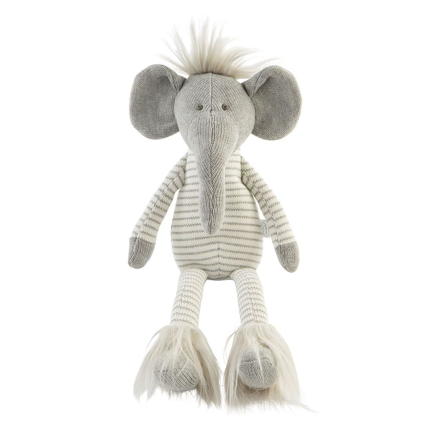 Sweater Knit Elephant Plush | Large