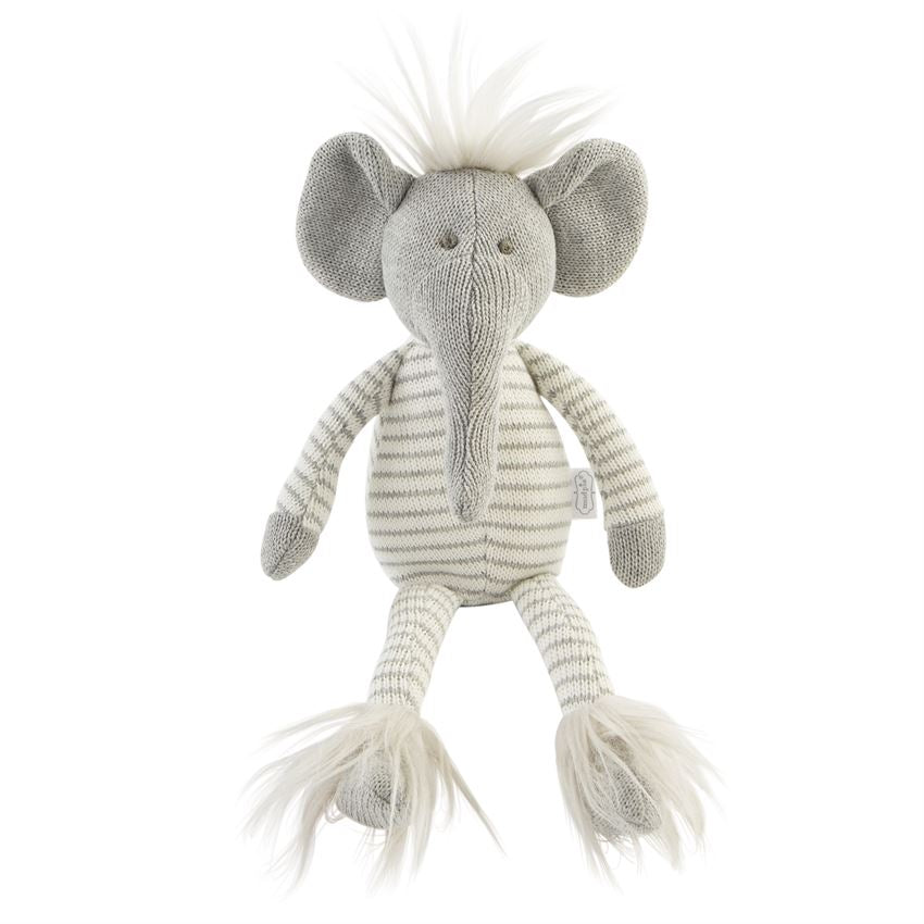 Sweater Knit Elephant Plush | Small