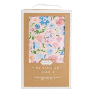Secret Garden Muslin Swaddle