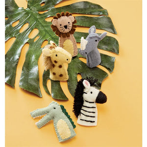 Safari Finger Puppet Set