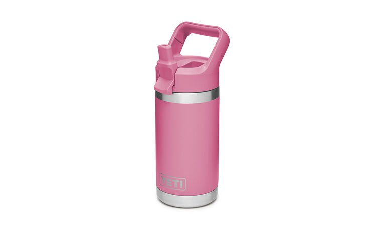 YETI Rambler Jr. 12 Oz Kids Bottle: Harbor Pink