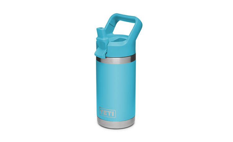 YETI Rambler Jr. 12 Oz Kids Bottle: Reef Blue