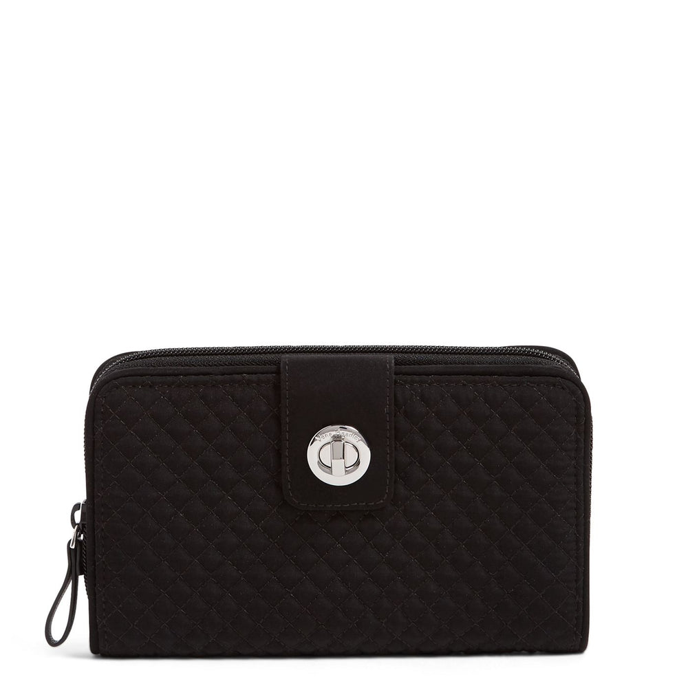 RFID Turnlock Wallet | Classic Black