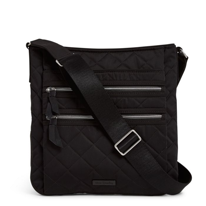 Triple Zip Hipster | Performance Twill Black
