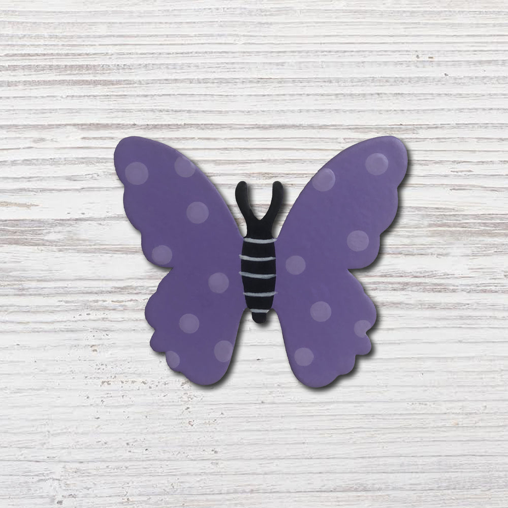 Butterfly Magnet | Dainty Purple