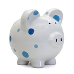 Multi-Dot Piggy Bank | Blue