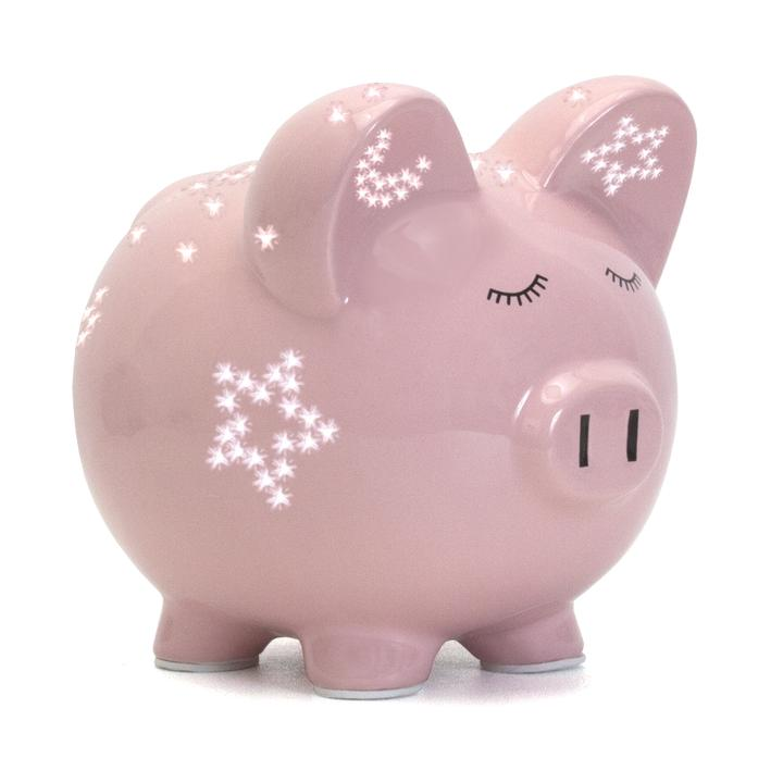 Pink Night Light Pig