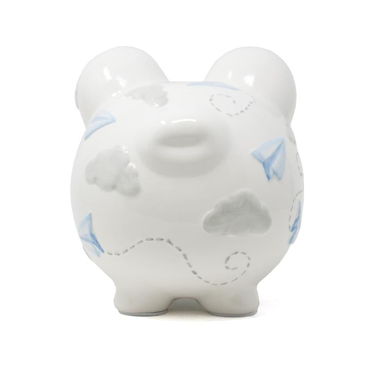 Paper Airplane Piggy Bank