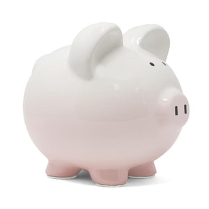 Ombre Piggy Bank | Pink