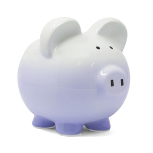 Ombre Piggy Bank | Purple
