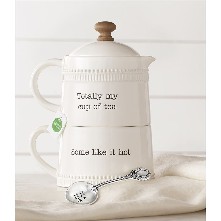 Stacking Tea For One Set