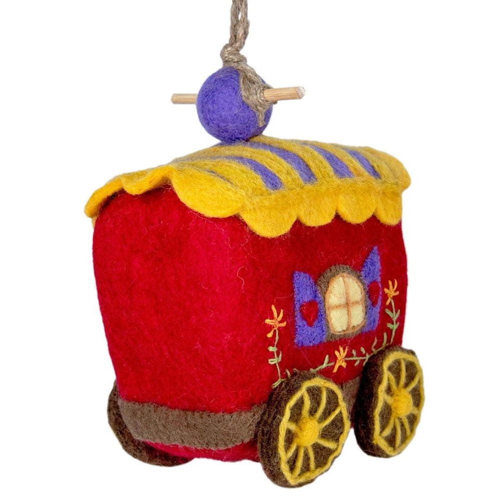 Gypsy Wagon Birdhouse