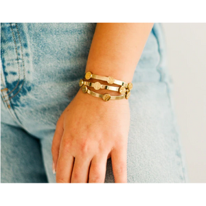 Skinny Stacker Bracelet | Determined