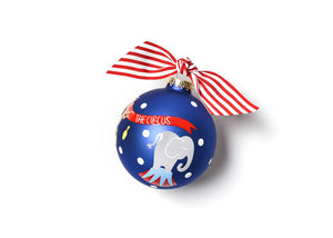 Circus Glass Ornament