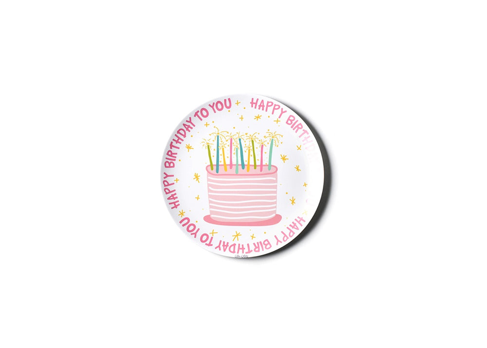 Happy Birthday Melamine Dinner Plate - Girl