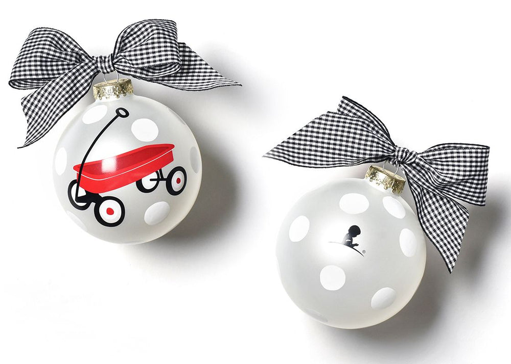 2019 Limited Edition St. Jude Red Wagon Glass Ornament