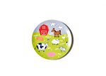 On The Farm Melamine Dinner Plate - Animal Sounds