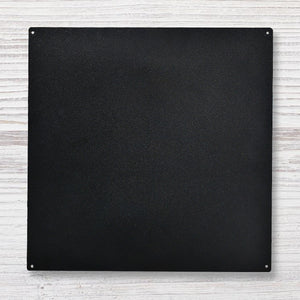Roeda Straight Edge Memo Board: Black 16 x 16