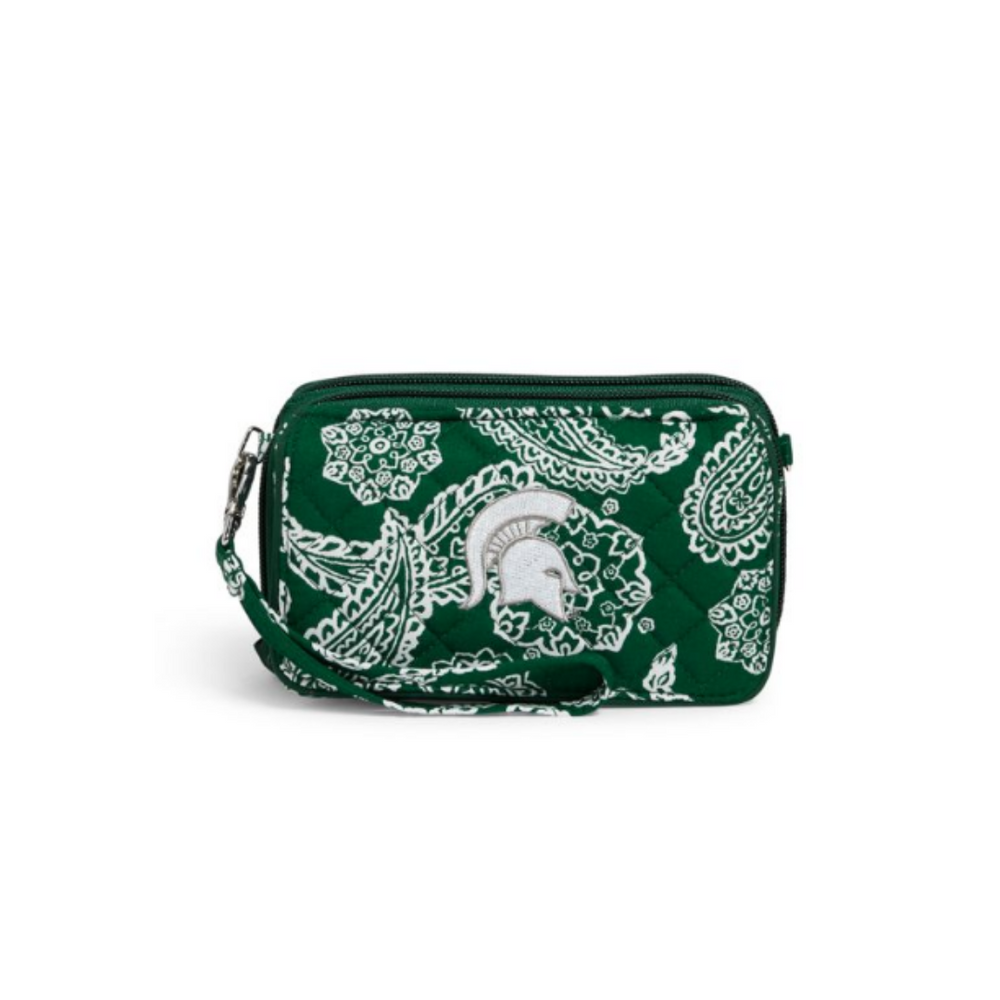 Collegiate RFID All in One Crossbody |  MSU