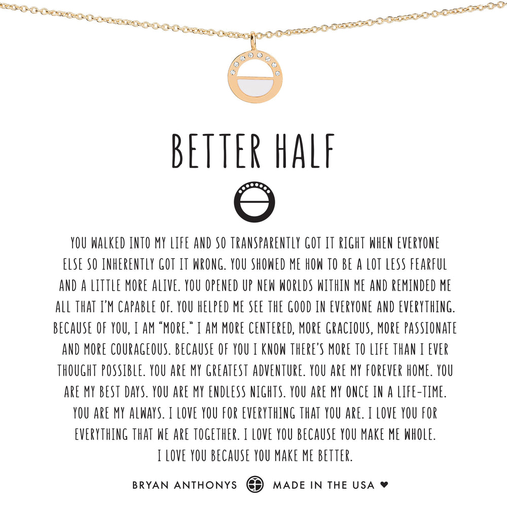 Better Half Necklace
