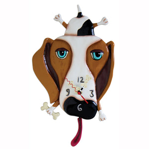 Buckley Dog Clock