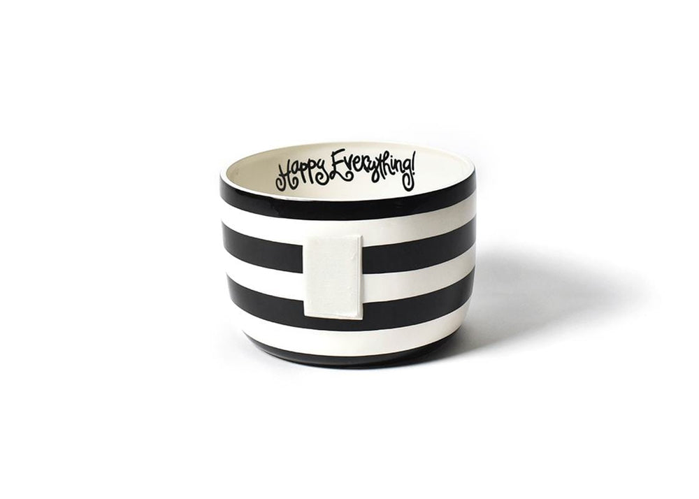 Black Stripe Happy Everything!™ Big Bowl