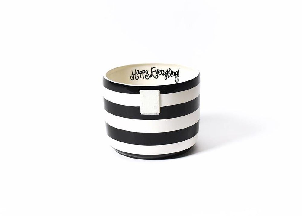 Black Stripe Happy Everything!™ Mini Bowl