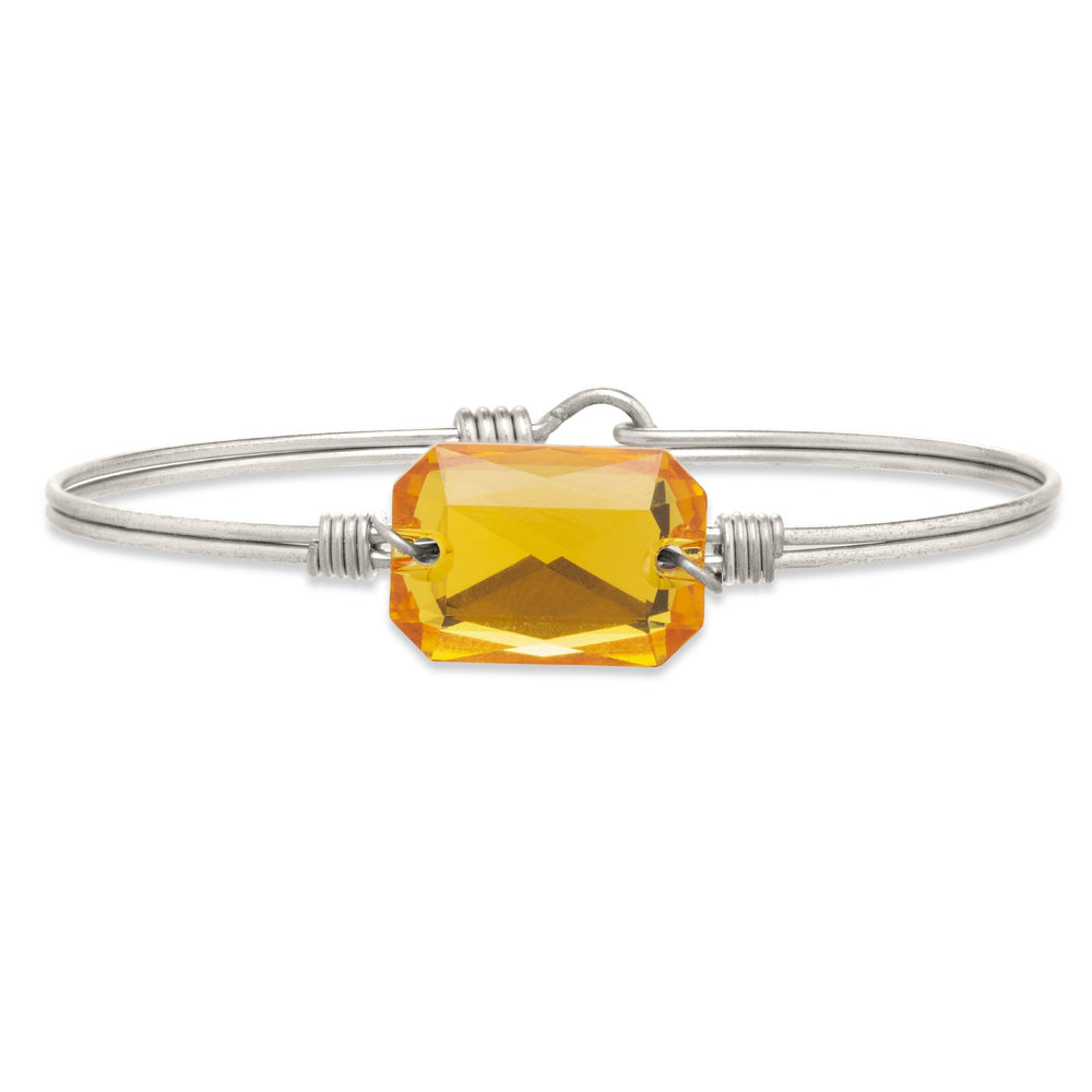 Dylan Bangle Bracelet in Sunflower