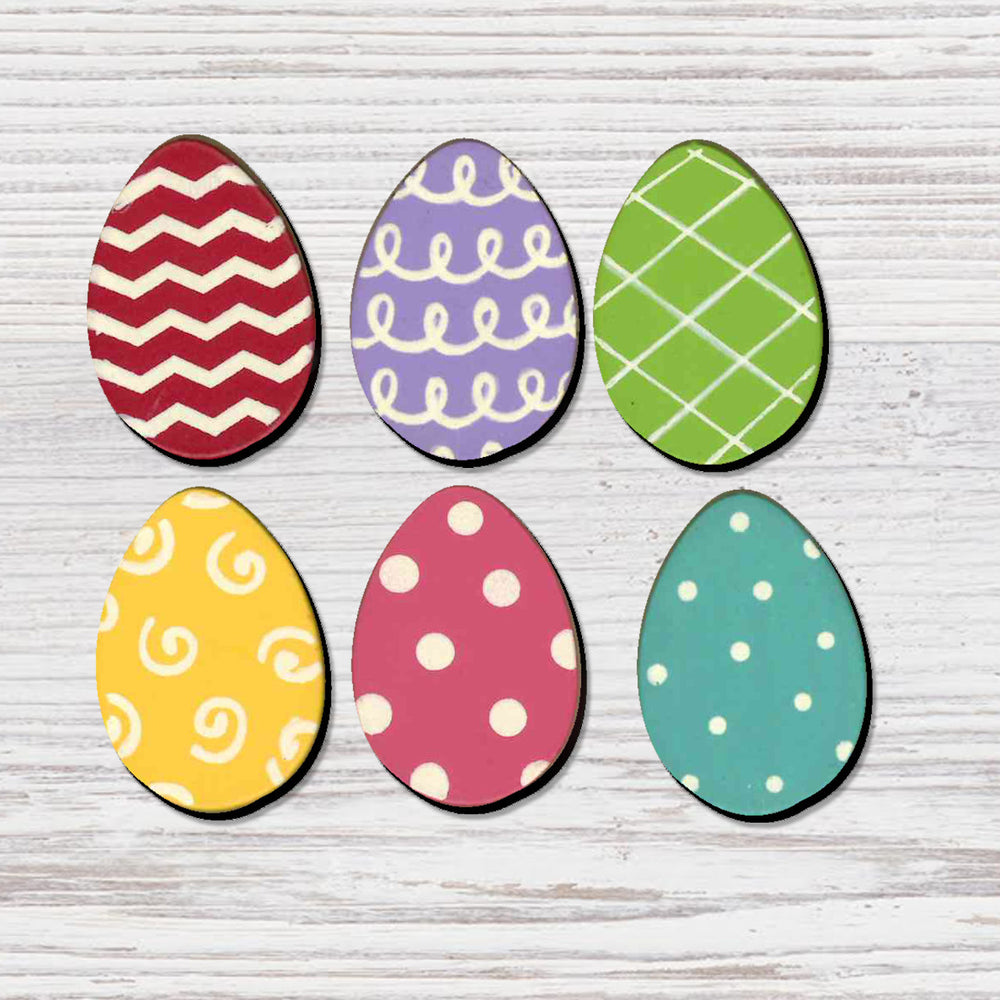 Easter Eggs Magnets